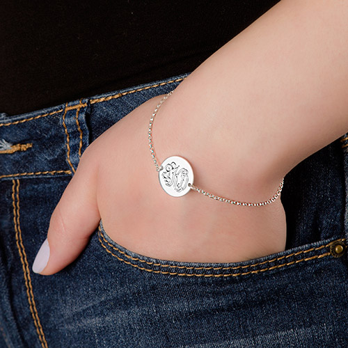 Personalised Monogram Bracelet - 2