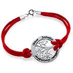 Sterling Silver Family Tree Bracelet