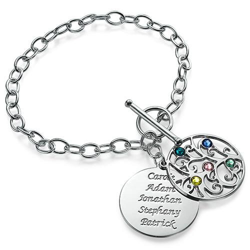 Sterling Silver Filigree Tree of Life Bracelet