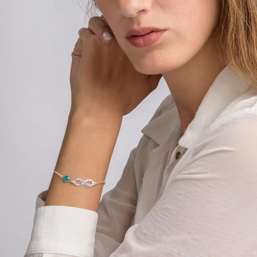 Infinity Birthstone Bracelet - 3