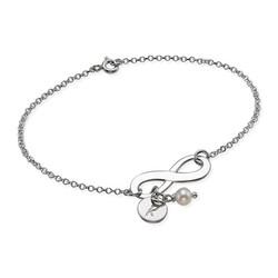 Initial Infinity Bracelet product photo