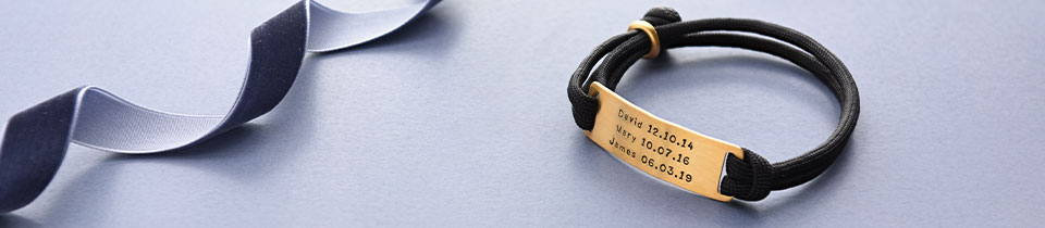 Personalised Men's Bracelets