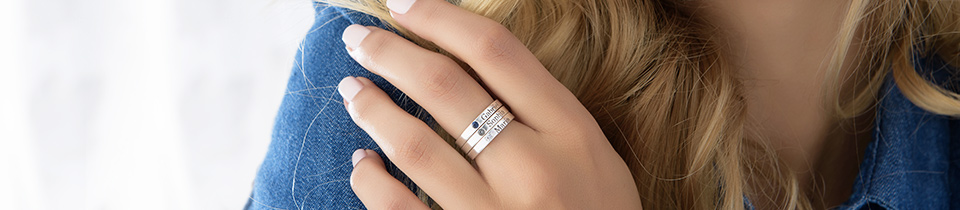 Personalised Rings