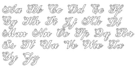 Sheli Alegro Font Necklaces