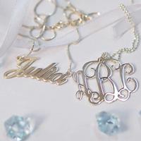 bridesmaids jewellery gift - MyNameNecklace AU