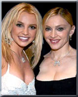 Madonna and Britney Spears Name Necklace