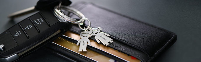 Individueller Schlüsselanhänger