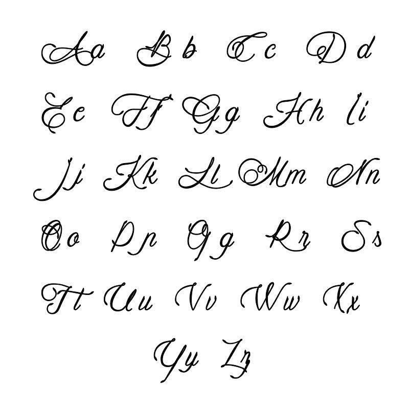 Vertikale Infinity-Namenskette mit Geburtssteinen - 3