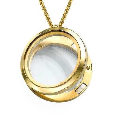 Vergoldetes Medaillon - 1