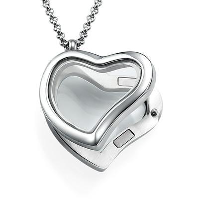 Herzförmiges Medaillon - 1