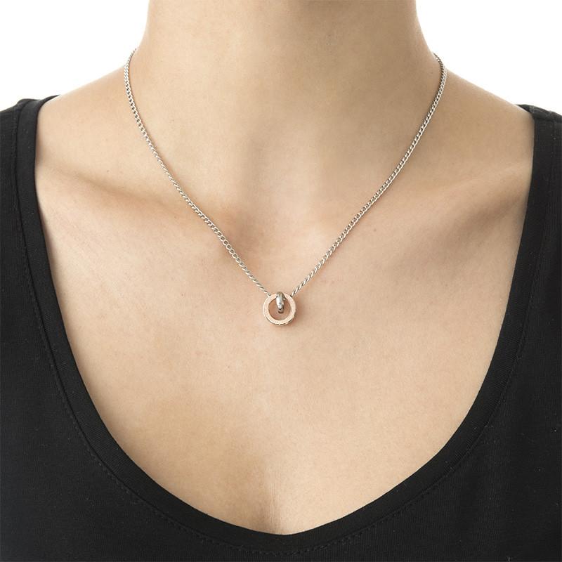 Kreisrunder Sie&Er-Halskette - 1