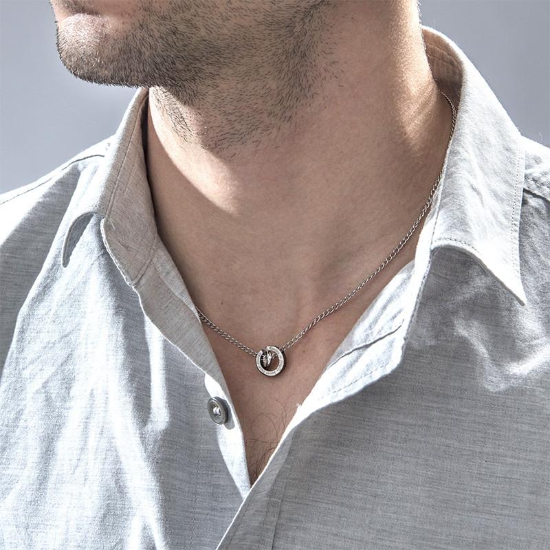 Kreisrunder Sie&Er-Halskette - 2