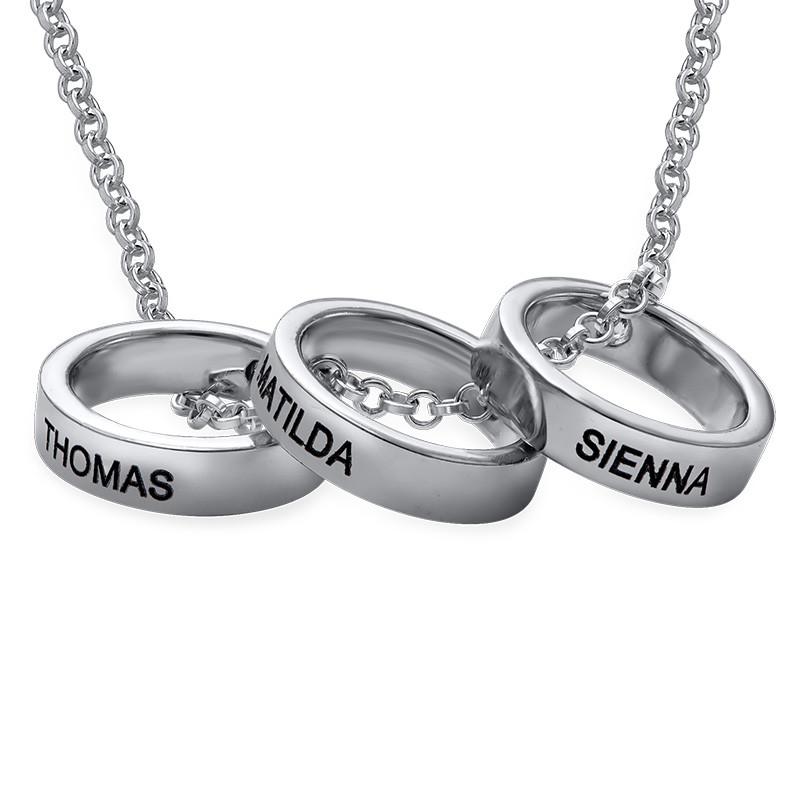 Ringkette für Mütter mit Gravur - 1
