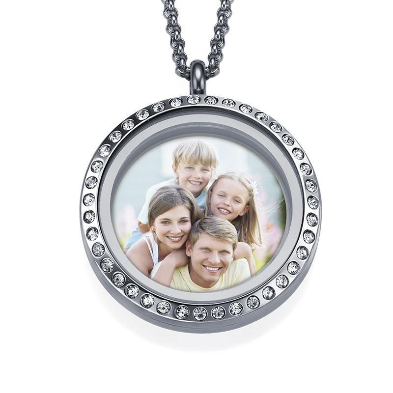 Medaillon-Fotokette für Mama