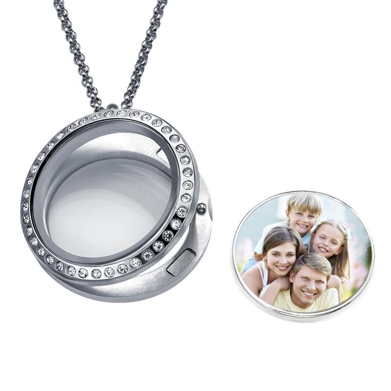 Medaillon-Fotokette für Mama - 1