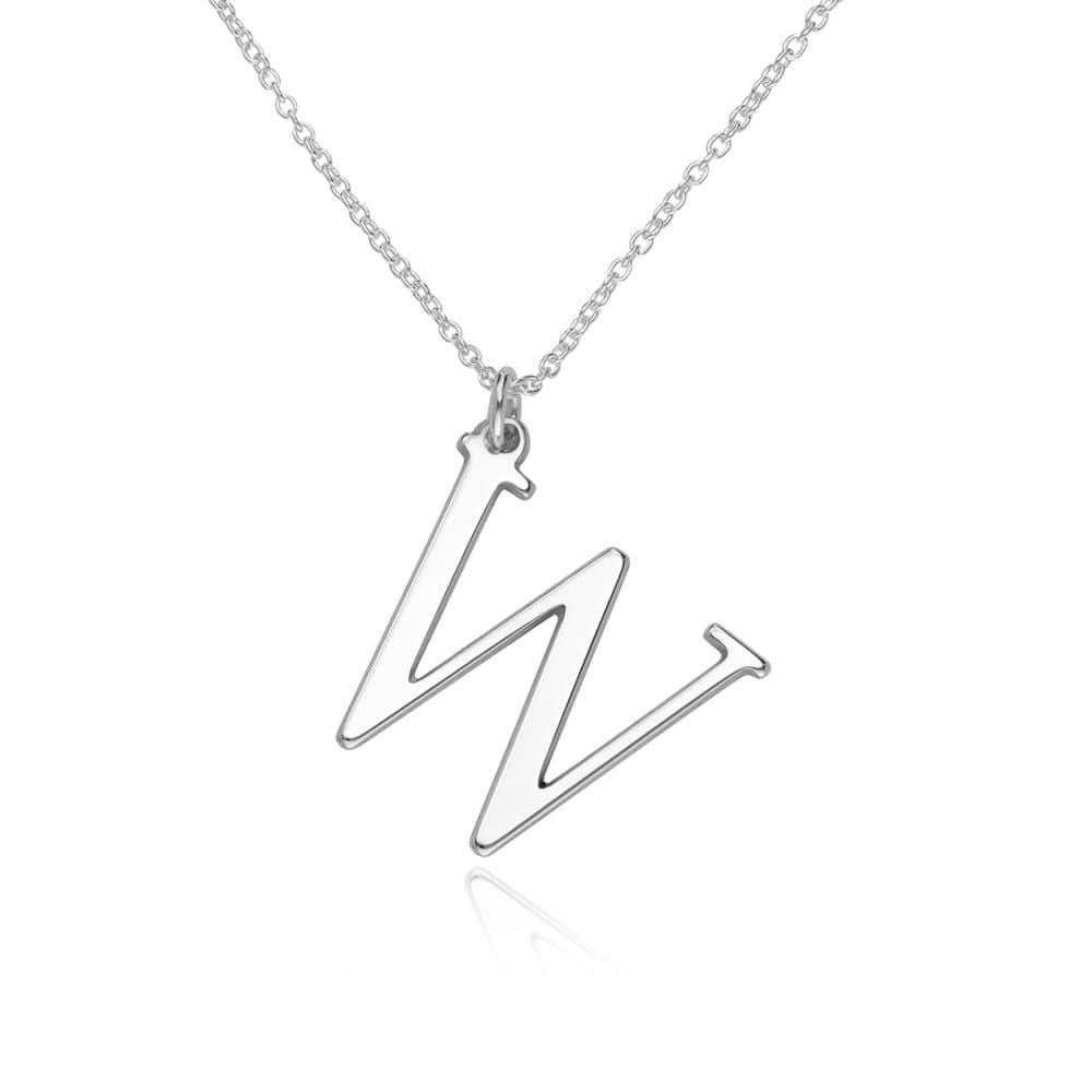 925er Silber Buchstabenkette