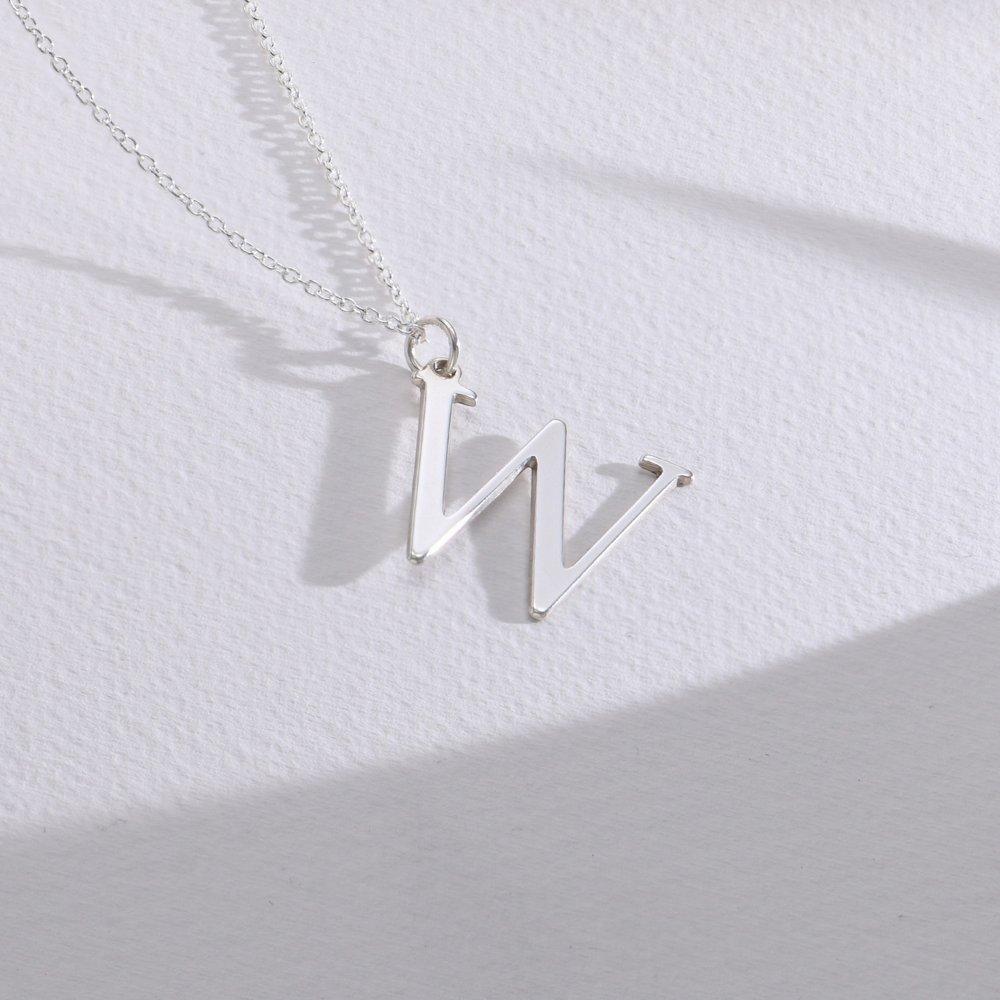 925er Silber Buchstabenkette - 1