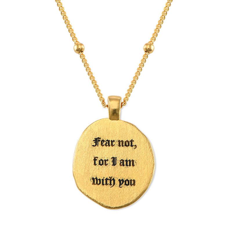 Vergoldete Jesus-Christus und Maria-Münzkette - 4