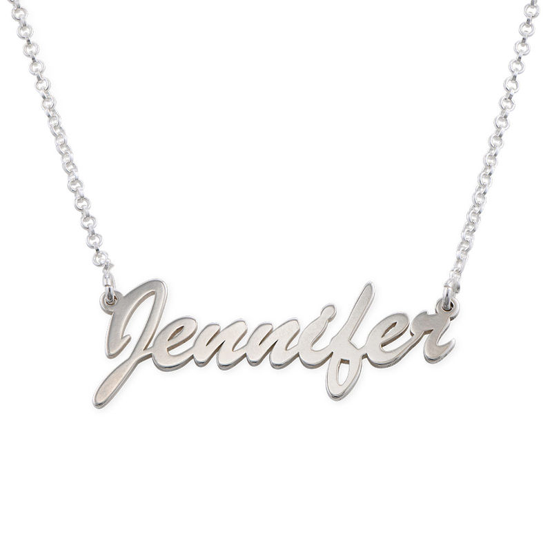 Namenskette aus Silber