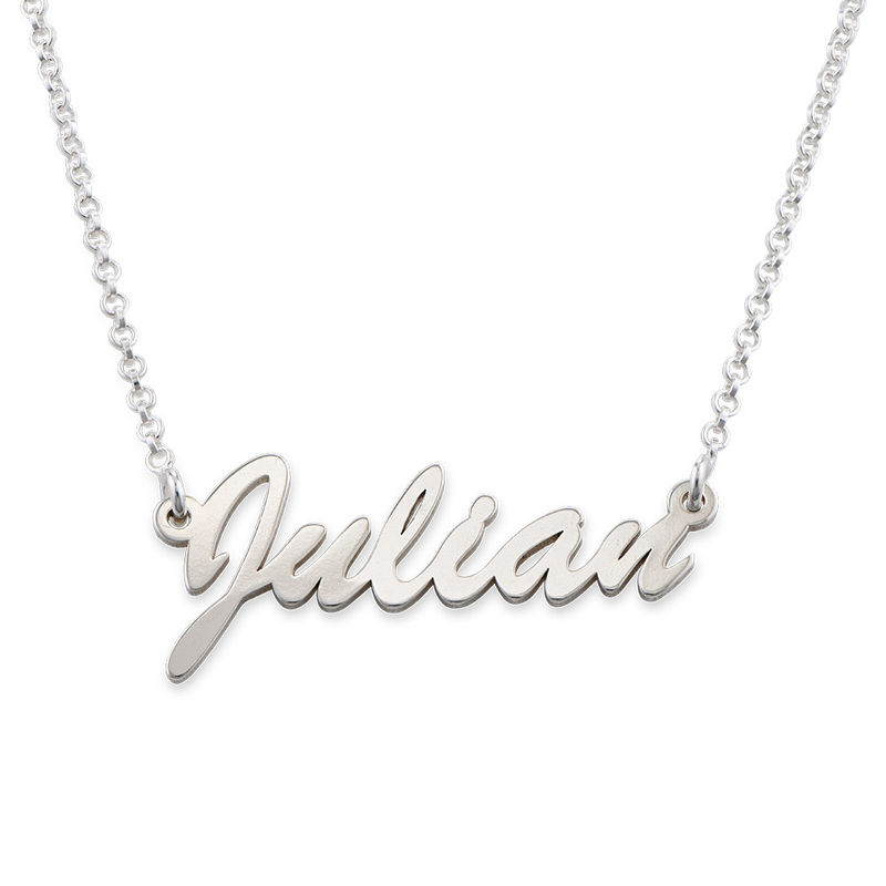 Namenskette aus Silber - 1