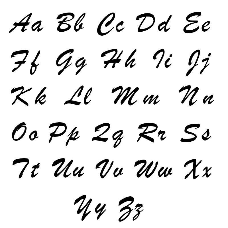 Namenskette aus Silber - 4