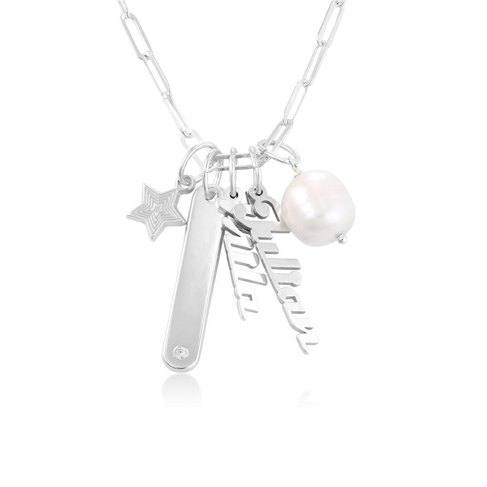 Siena Barrenketten Halskette in Sterlig Silber - 1