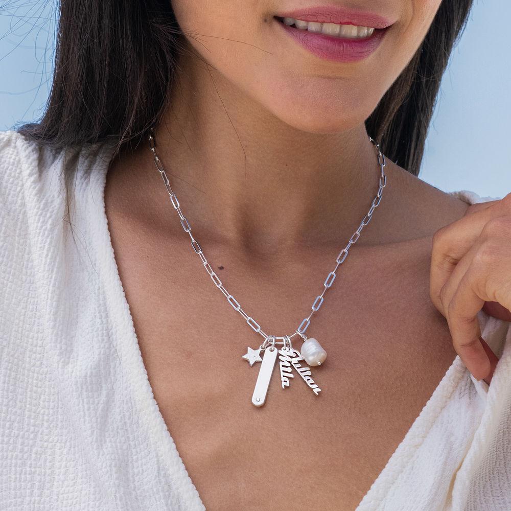 Siena Barrenketten Halskette in Sterlig Silber - 2