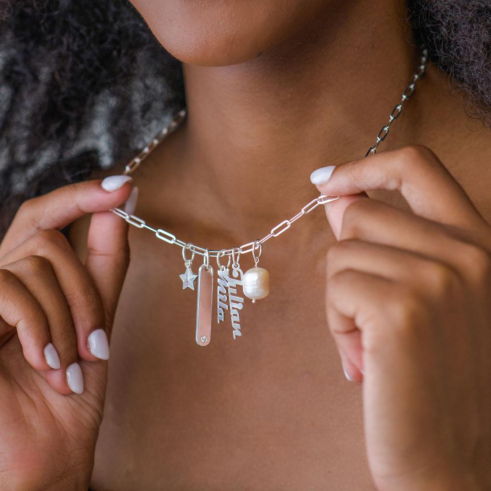 Siena Barrenketten Halskette in Sterlig Silber - 4