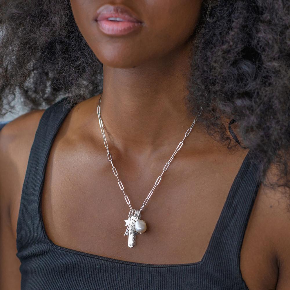 Siena Barrenketten Halskette in Sterlig Silber - 5