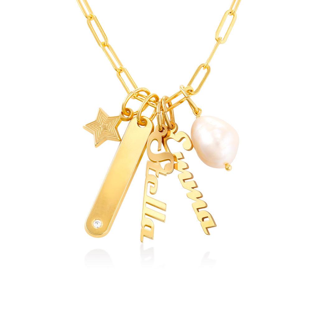 Siena Barrenketten Halskette in Gold-Vermeil