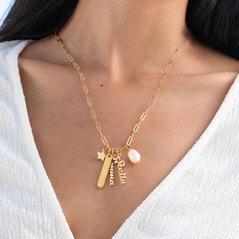 Siena Barrenketten Halskette in Gold-Vermeil - 2