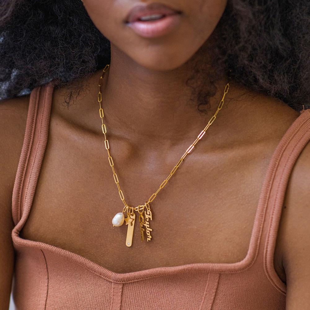 Siena Barrenketten Halskette in Gold-Vermeil - 4