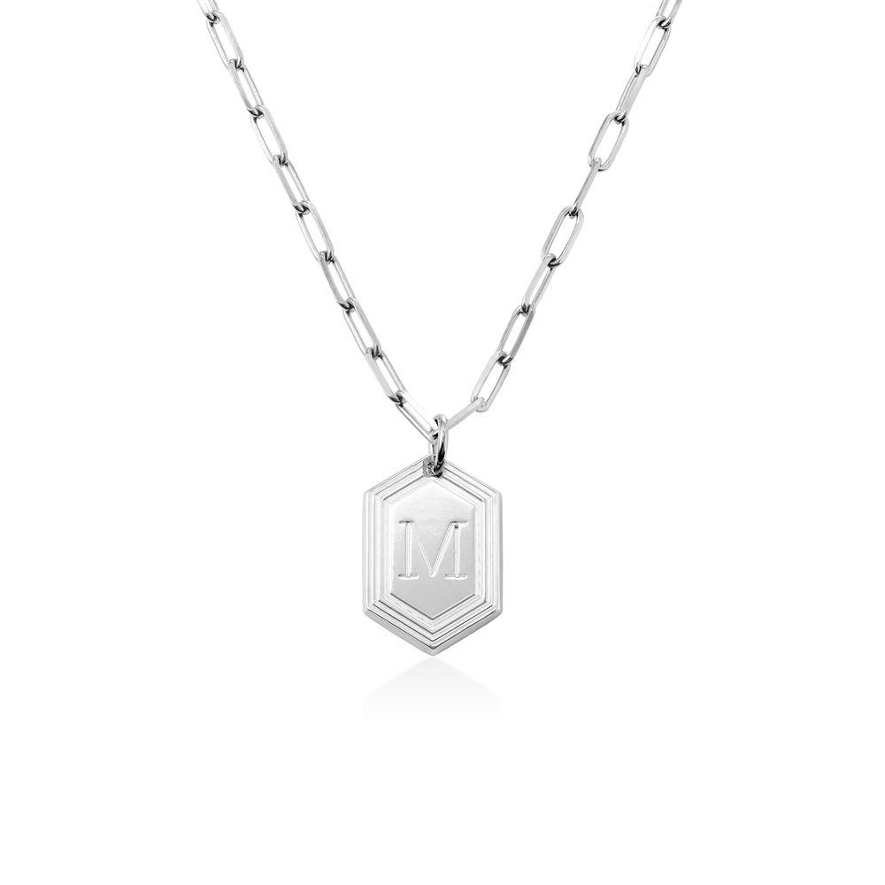 Cupola Glieder-Halskette aus Sterlingsilber
