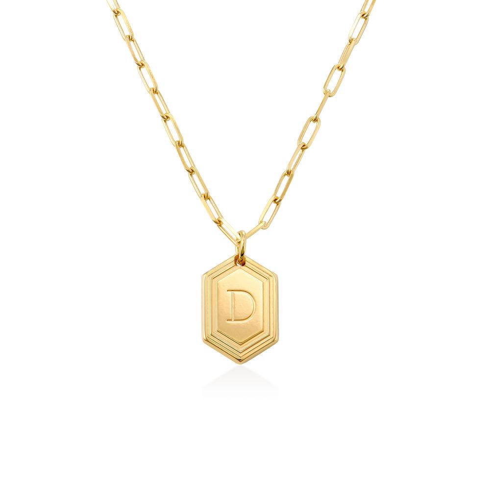 Cupola Glieder-Halskette mit Vergoldung