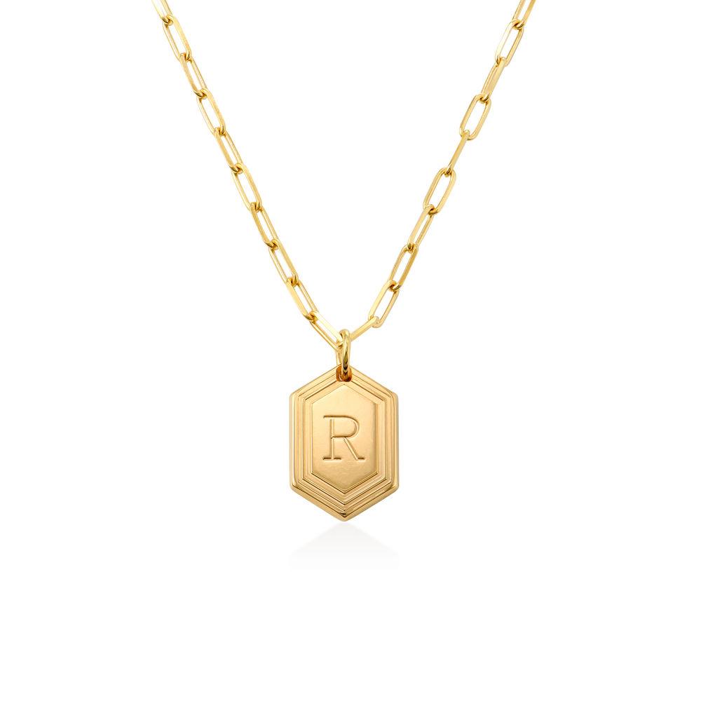 Cupola Glieder-Halskette in Gold-Vermeil