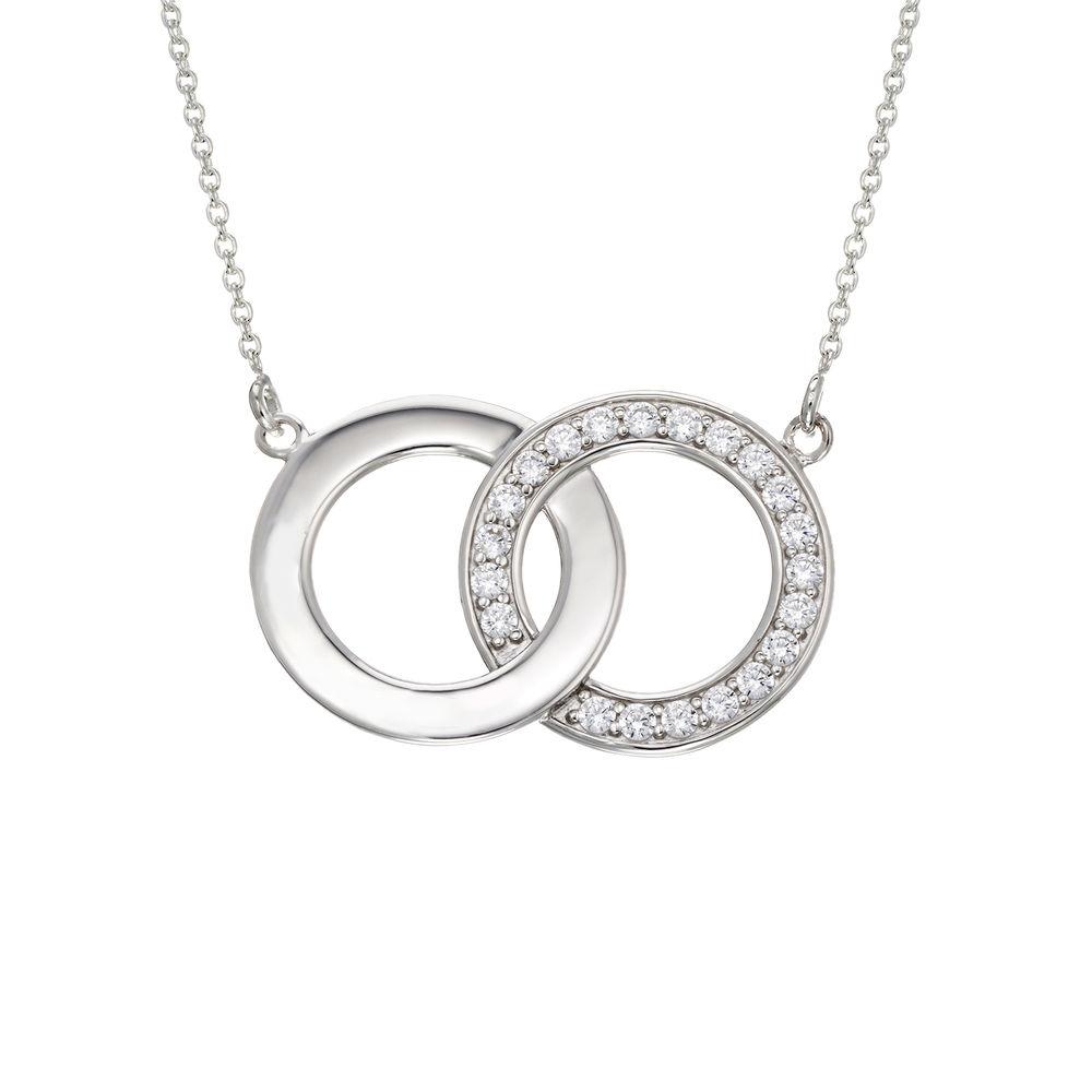 Perfektes Paket - Zirkonia-Halskette mit Geschenkbox und vorgedruckter Geschenknotiz - 1