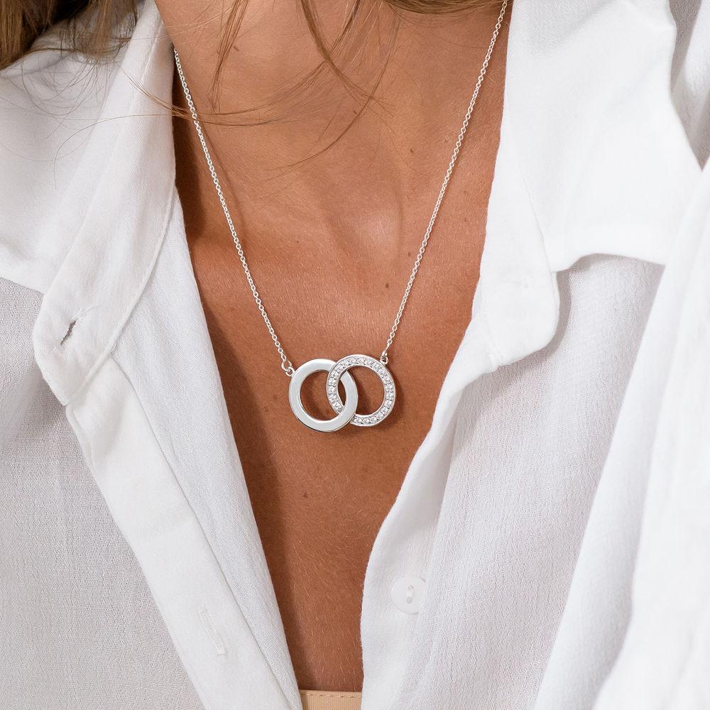 Perfektes Paket - Zirkonia-Halskette mit Geschenkbox und vorgedruckter Geschenknotiz - 2