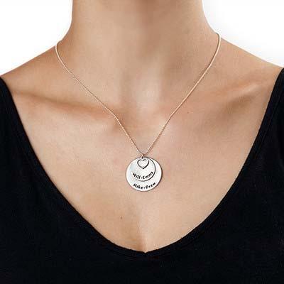 925er Sterling Silber Familienkette - 1