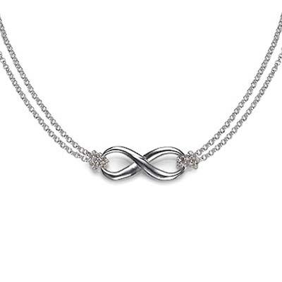 Infinity - Unendlich Anhänger aus 925er Silber - 1