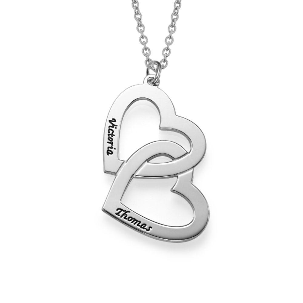 Romantische 925er Silber Herzkette