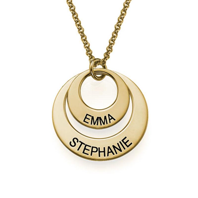 Schmuck für Mütter - Vergoldete Ringkette - 2
