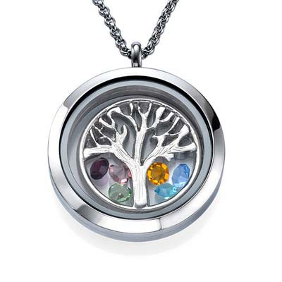 Charm Medaillon -Familienstammbaum