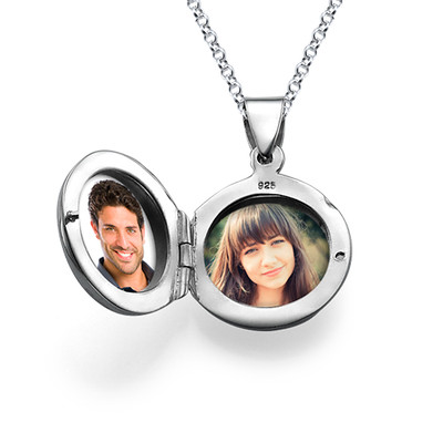 Personalisiertes Silber Medaillon - 2