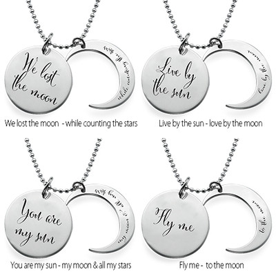 Ich liebe Dich bis zum Mond und zurück-Kette - 2