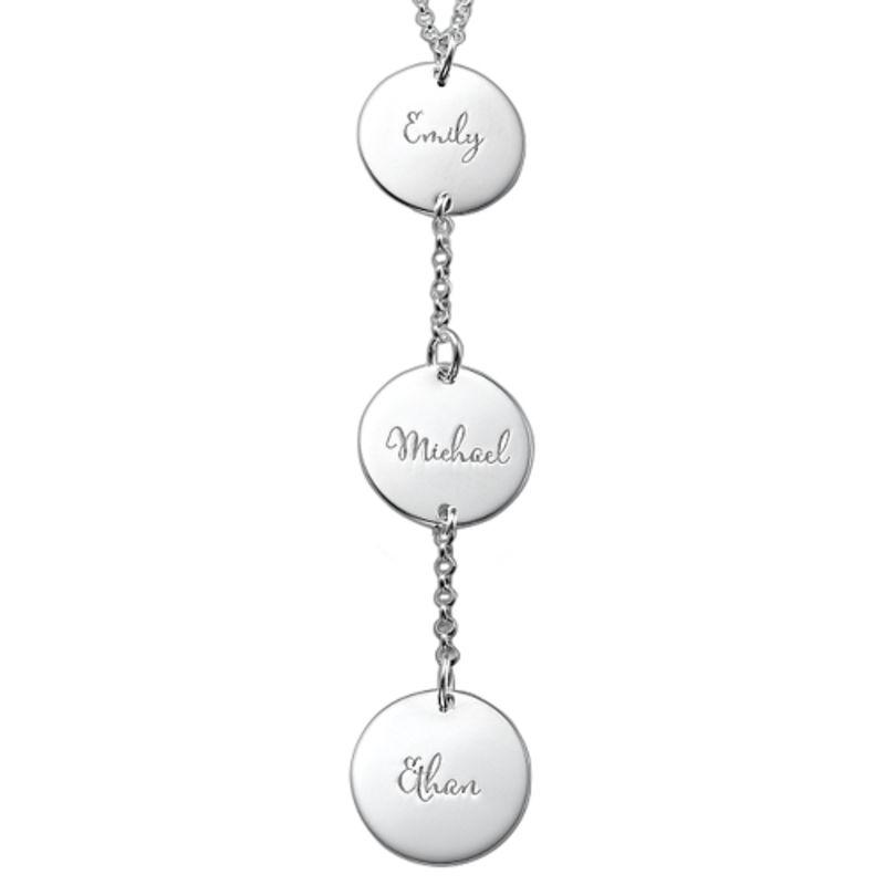 Personalisierte Y-Kette für Mama aus Sterling Silber
