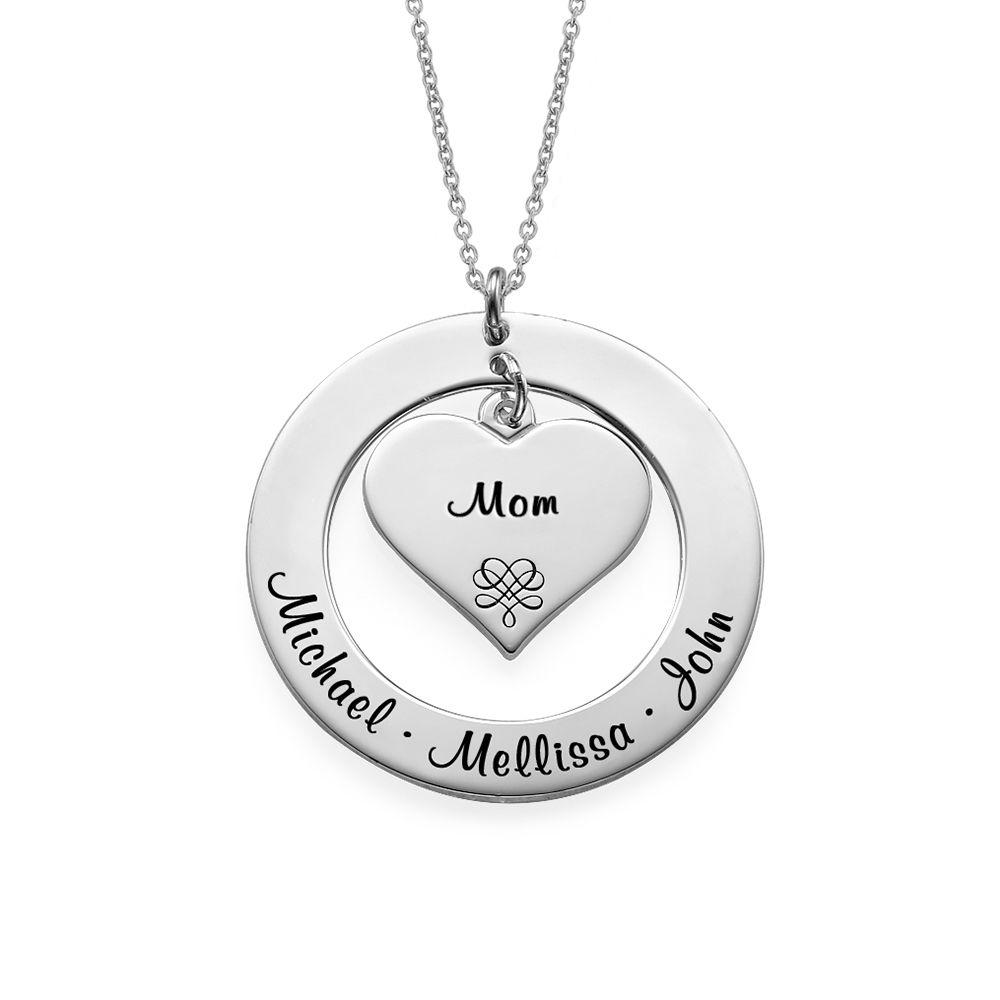 Kette für Großmütter und Mütter aus Sterling Silber - 1
