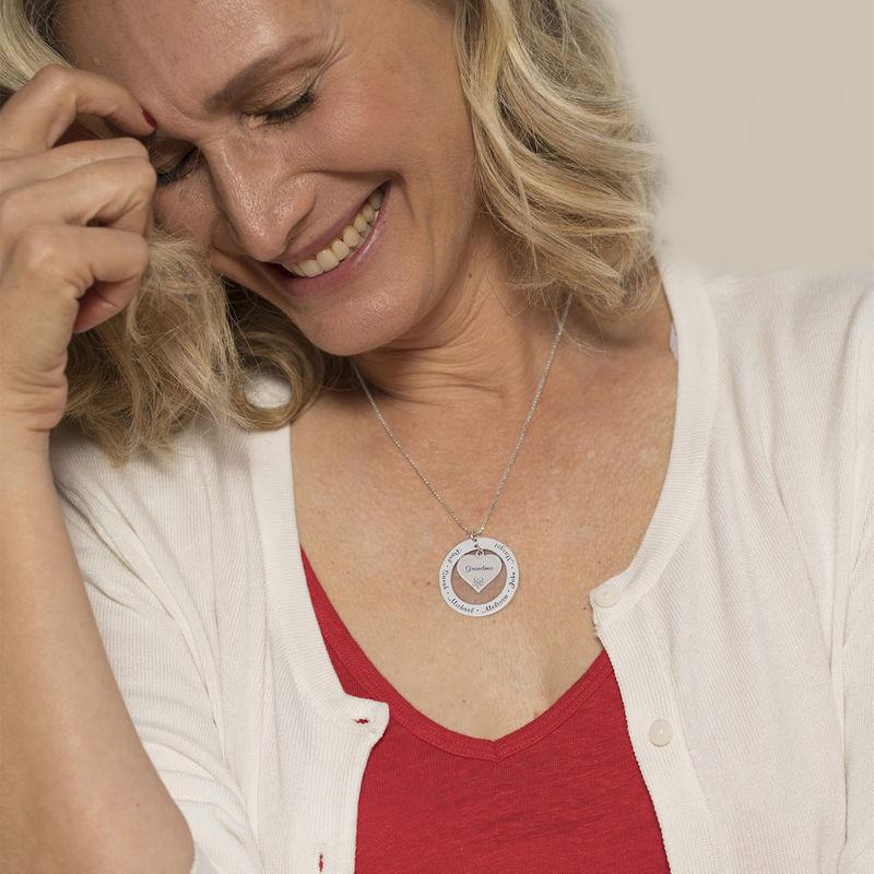 Großmutter- / Mutterkette aus 417er-Weißgold - 3
