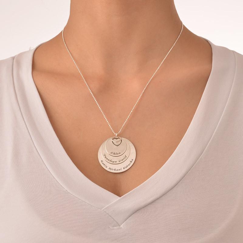 Mutterkette mit 3 gravierbaren Scheiben - 2