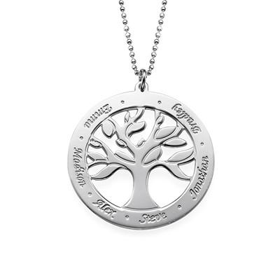 """Gravierbare """"Baum des Lebens""""-Kette für Mama"""