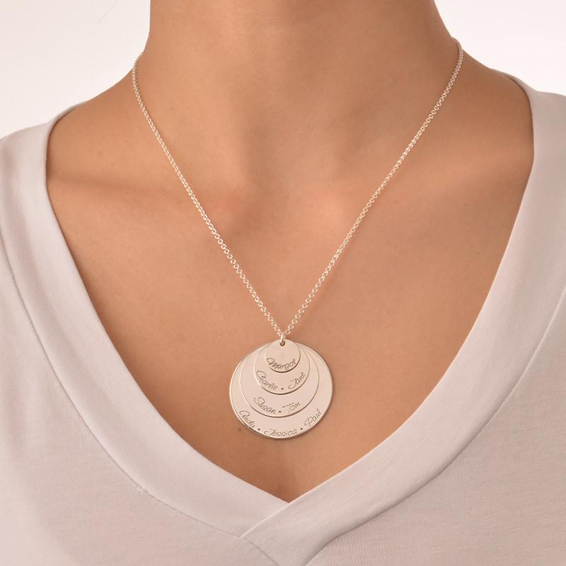 Gravierbare Mutterkette mit 4 Scheiben - 2